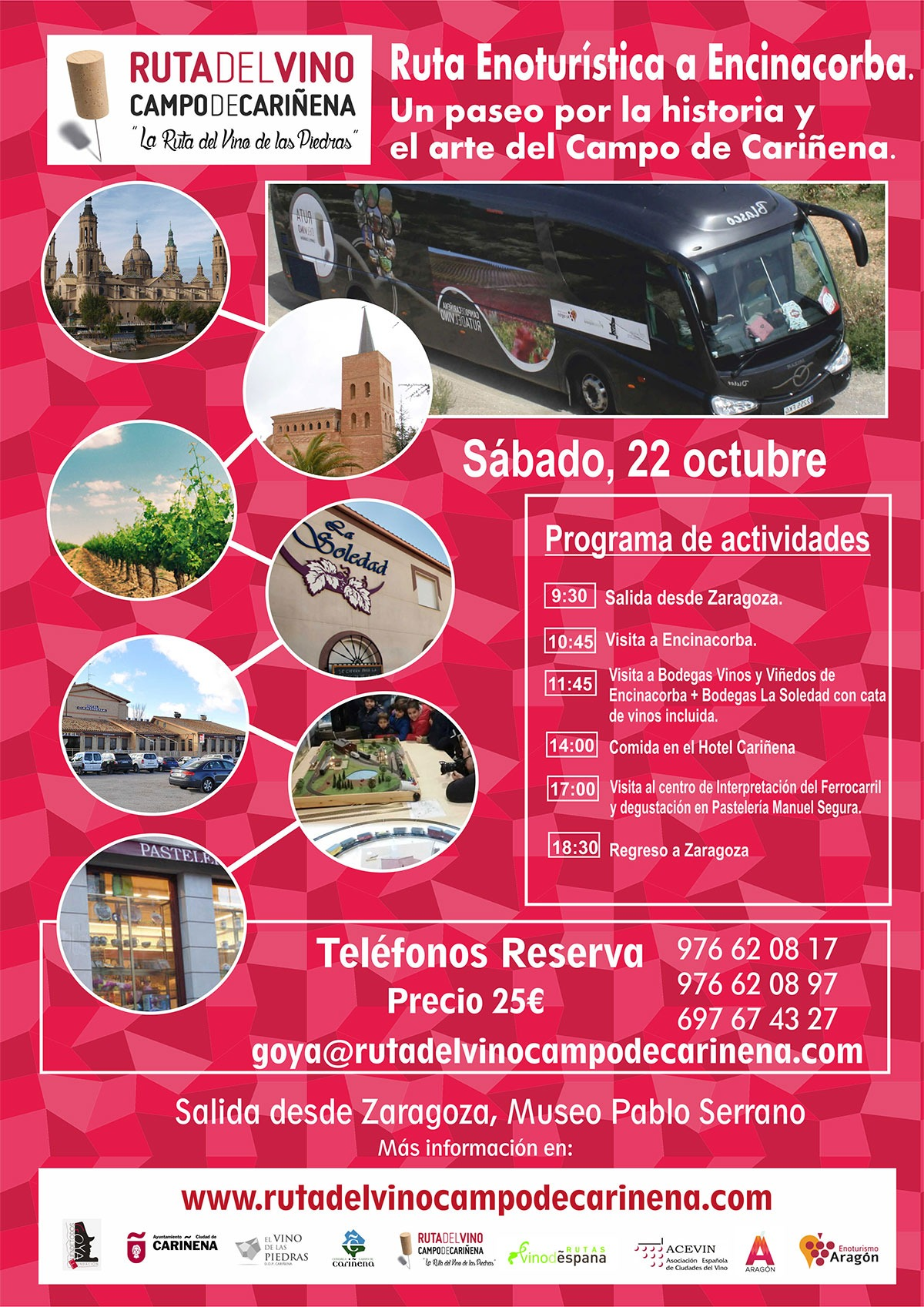 El Bus de la Ruta, este mes de octubre visita Encinacorba