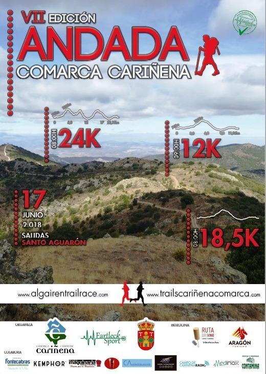 """VII Edición ANDADA """"Comarca Cariñena"""""""